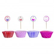 JaBaDaBaDo - Party Cupcake Set / Rosa