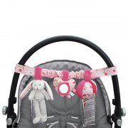 Little Dutch - Kinderwagen Kette Hase / Pink Blossom