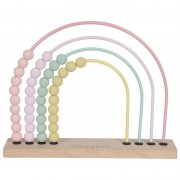 Little Dutch - Holz Motorik Regenbogen / Pink