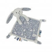 Little Dutch - Kuscheltuch, Hase Adventure / Blau