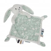 Little Dutch - Kuscheltuch, Hase Adventure / Mint