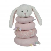 Little Dutch - Stoff Steckspiel Hase Adventure / Puder Rosa