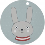 OyOy - Kinder Tisch-Set Rabbit Hase