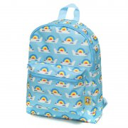 Petit Monkey - Kinderrucksack Airplanes / Blau