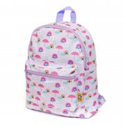 Petit Monkey - Kinderrucksack Rainy Days / Lila