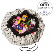 Play & Go - Spielteppich & Spielsack / OMY-Colour your Bag