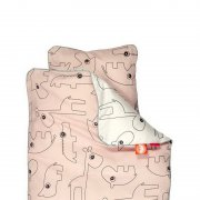 done by deer - Kinder Bettwäsche Contour, Junior (Pink) /...