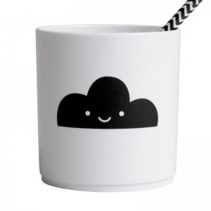 Buddy and Bear - Becher Black Cloud, Weiß / 250 ml