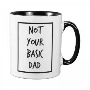 Cribstar - Becher für Papas Not Your Basic Dad / 280 ml