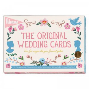 Milestone Cards - The Original WEDDING CARDS / 30 Stück