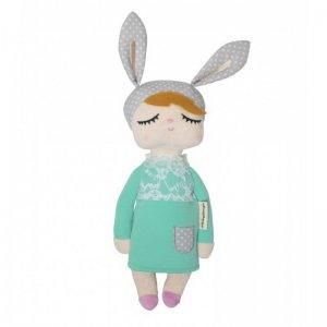 Miniroom - Kuschelpuppe, Kanindocka Little Rabbit MINI / Mint