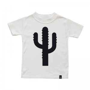 Wild Boys and Girls - Tshirt CACTUS / Weiß