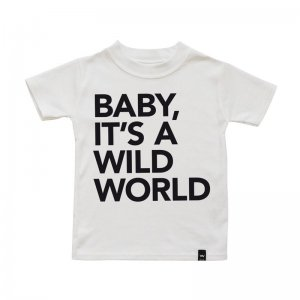 Wild Boys and Girls - Tshirt WILDWORLD / Weiß (Größe XS)